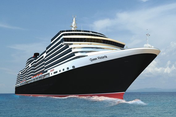 Cunard Queen Victoria new zealand Across NZ