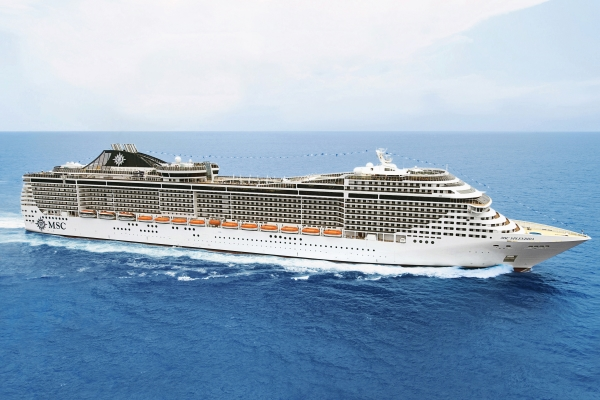 MSC Cruises MSC Splendida new zealand Across NZ
