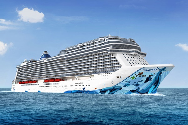 Norwegian Cruise Line Norwegian Bliss new zealand NewZealandNZ