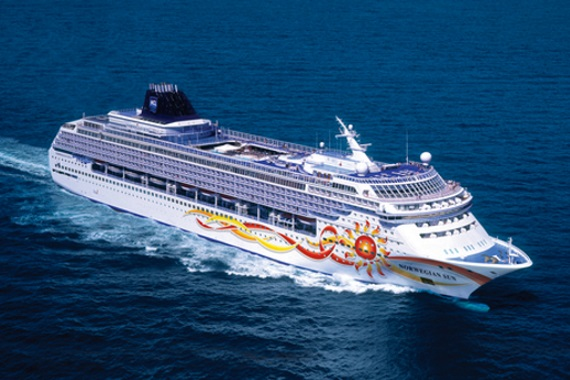 Norwegian Cruise Line Norwegian Sun new zealand Across NZ