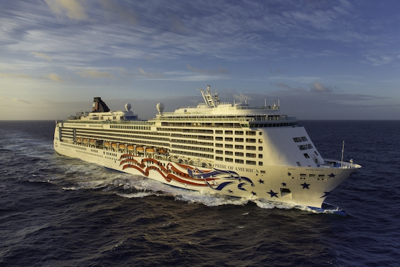 Norwegian Cruise Line Pride of America new zealand Across NZ