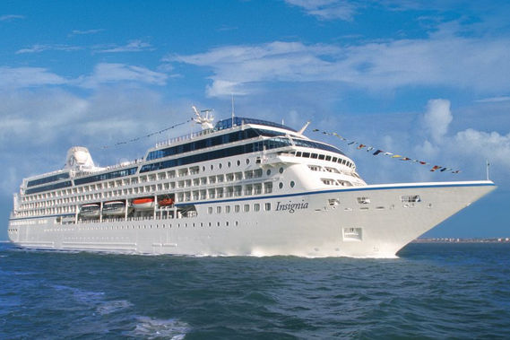 Oceania Cruises Insignia new zealand Across NZ