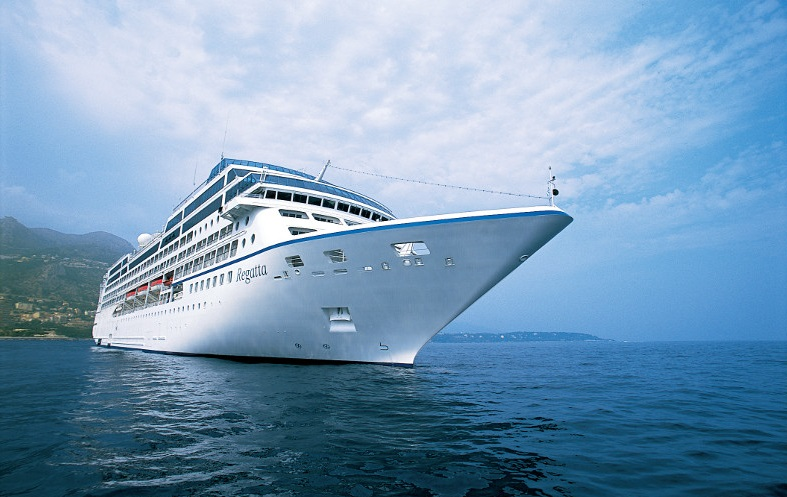 Oceania Cruises Regatta auckland port