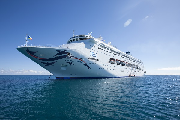 P&O Cruises P&O - Pacific Jewel new zealand NewZealandNZ
