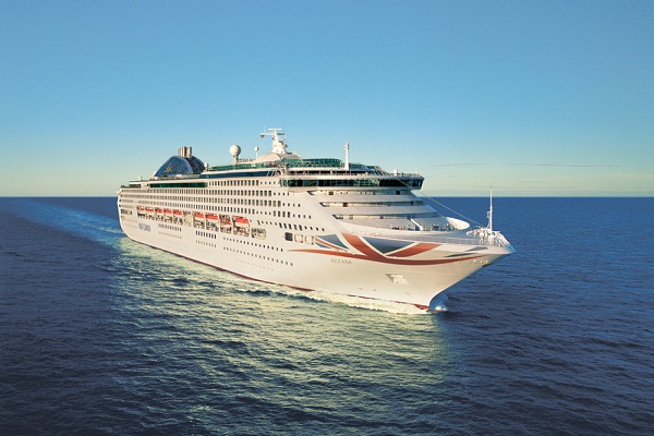 P&O Cruises UK Oceana new zealand Across NZ
