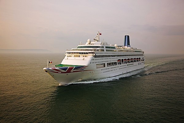 P&O Cruises UK Oriana new zealand Across NZ