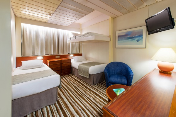 P o pacific pearl family cruises australia for P o cruise bedrooms