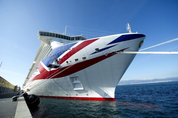 P&O Cruises UK Britannia new zealand Across NZ