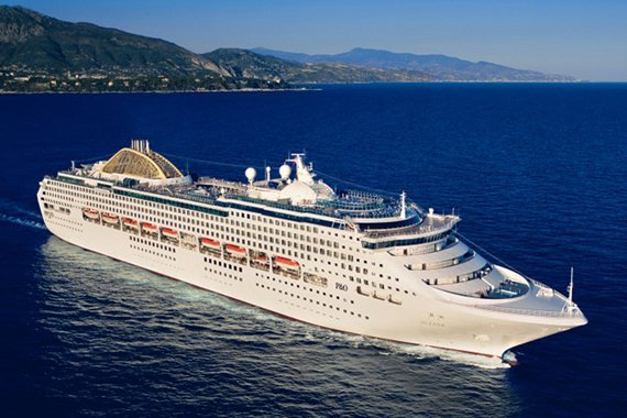 P&O Cruises UK Oceana new zealand NewZealandNZ