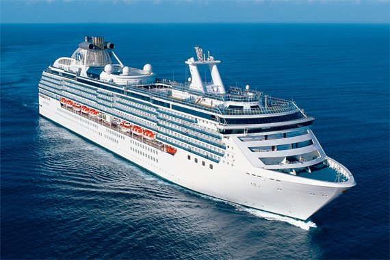 Princess Cruises Coral Princess new zealand Across NZ