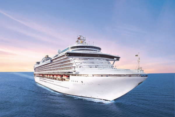 Princess Cruises Crown Princess new zealand Across NZ