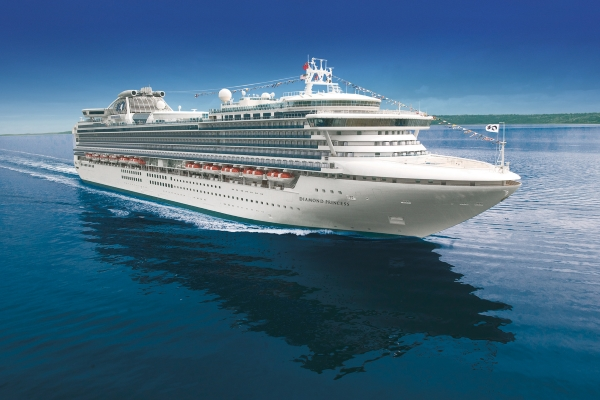 Princess Cruises Diamond Princess new zealand Across NZ