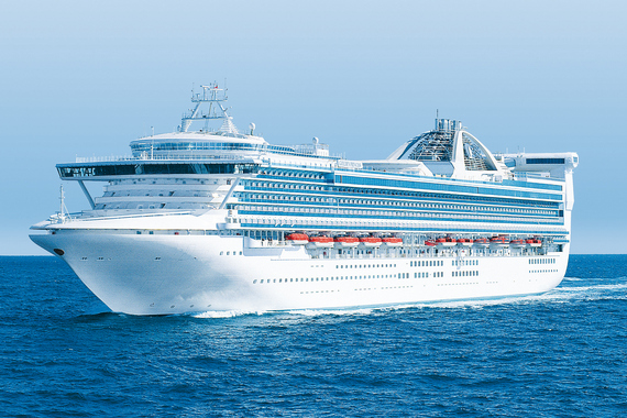 Princess Cruises Golden Princess new zealand Across NZ