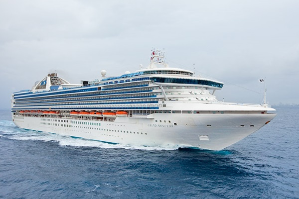 Princess Cruises Grand Princess new zealand Across NZ