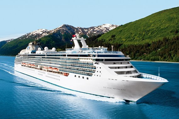Princess Cruises Island Princess new zealand Across NZ