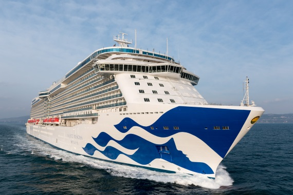 Princess Cruises Majestic Princess auckland port