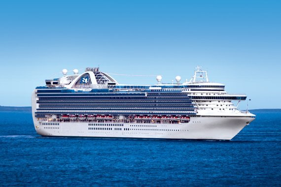 Princess Cruises Ruby Princess new zealand Across NZ