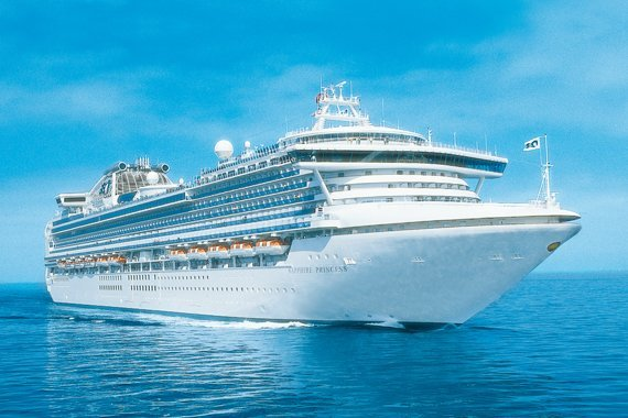 Princess Cruises Sapphire Princess new zealand Across NZ