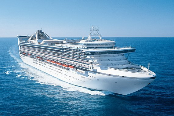 Princess Cruises Star Princess new zealand Across NZ