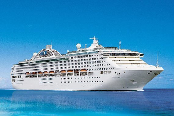 Princess Cruises Sun Princess new zealand Across NZ