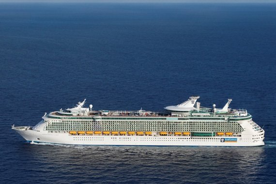 Royal Caribbean Independence Of The Seas new zealand Across NZ