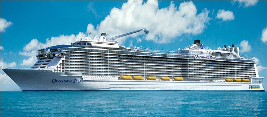 Royal Caribbean Ovation of the Seas new zealand NewZealandNZ