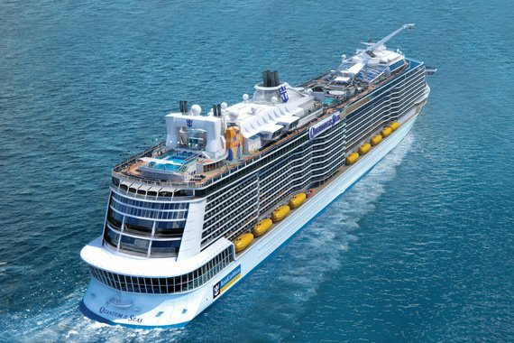 Royal Caribbean Quantum Of The Seas new zealand Across NZ