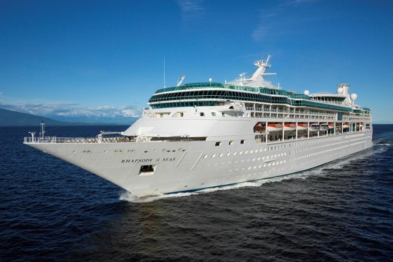 Royal Caribbean Rhapsody Of The Seas new zealand Across NZ
