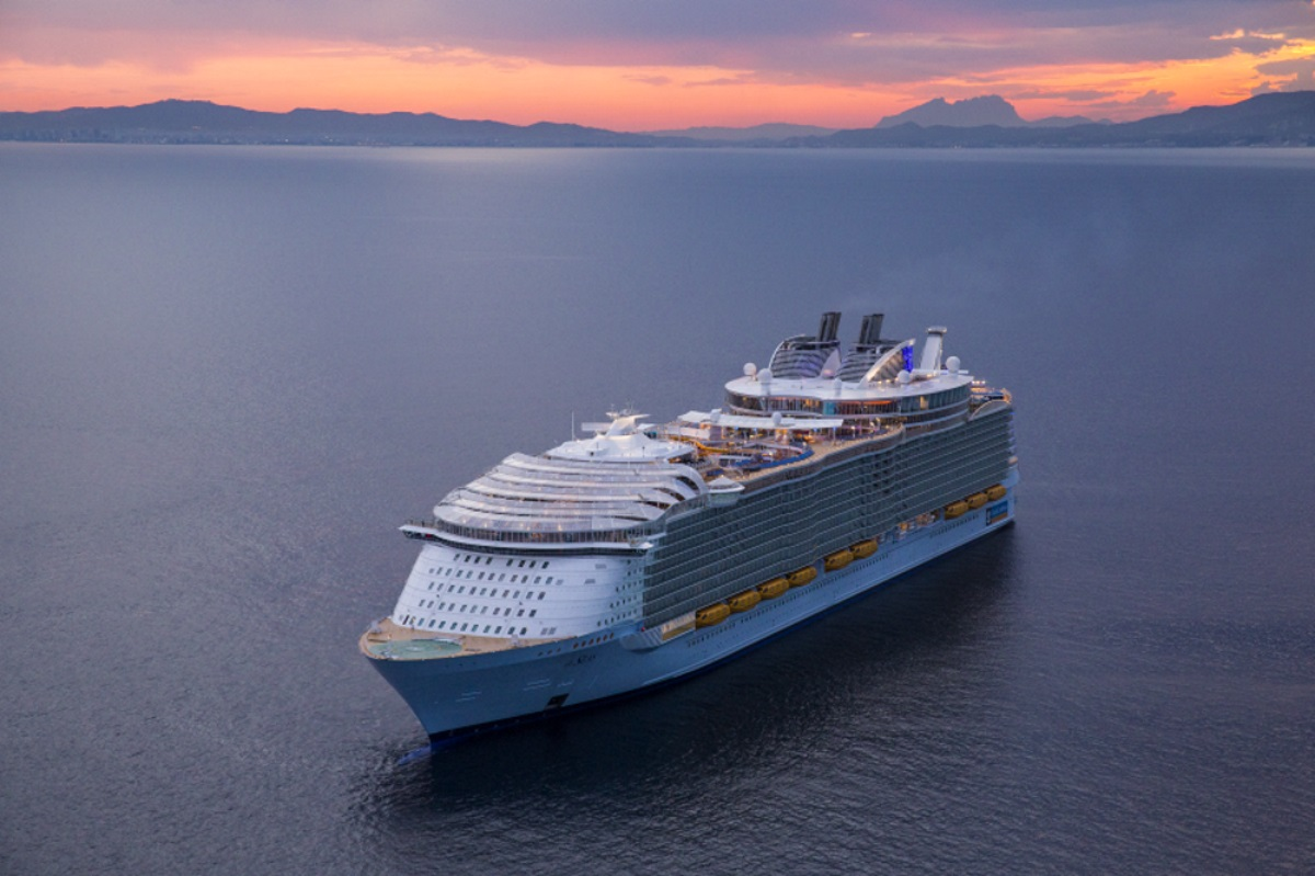 Royal Caribbean Symphony Of The Seas new zealand Across NZ