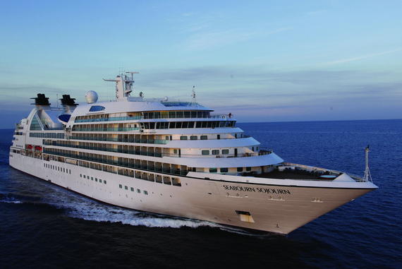 Seabourn Seabourn Sojourn new zealand Across NZ