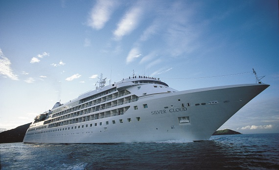 Silversea Cruises Silver Cloud Expedition new zealand Across NZ