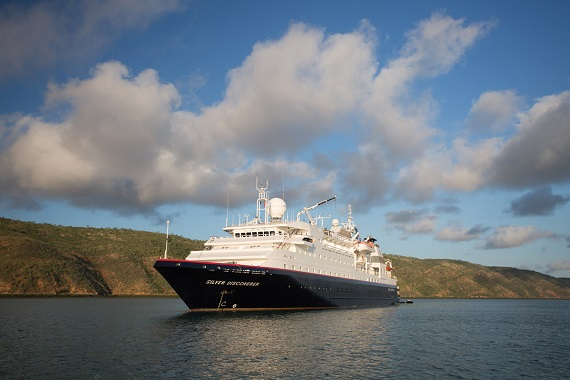 Silversea Cruises Silver Discoverer new zealand Across NZ