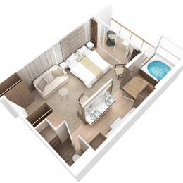 Club Spa Suite Layout
