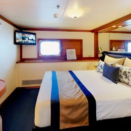 Oceanview Cabin with Double Bed