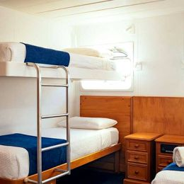 Porthole Cabins with Bunk Beds