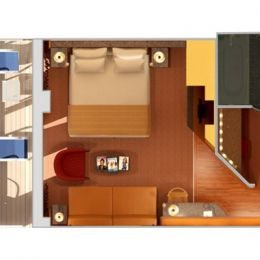 Ocean Suite layout