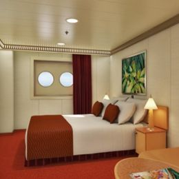 Interior Stateroom with Porthole