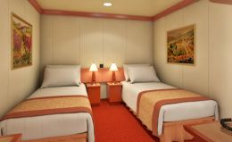 Interior Stateroom Twin