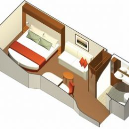 Wheelchair Accessible Interior Cabin