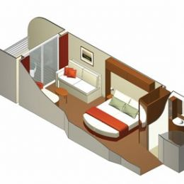 Guarantee AquaClass Stateroom