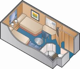 Oceanview Cabin Floor Plan