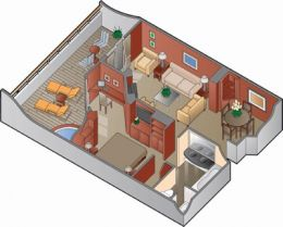Royal Suite Floor Plan