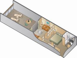Family Stateroom Floorplan