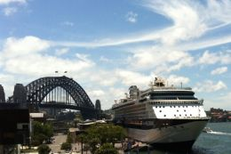 Celebrity Millennium in Sydney