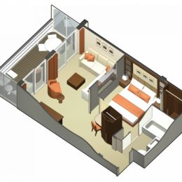 Celebrity Suite Layout