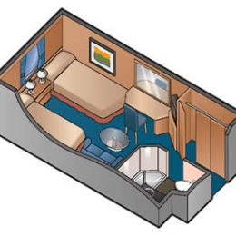Wheelchair Accessible Oceanview Cabin