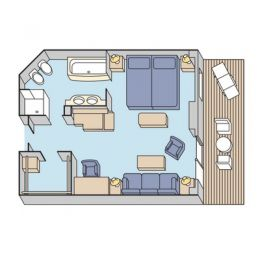 Layout of Penthouse Suite