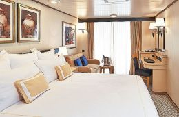 Britannia Obstructed Balcony Stateroom