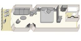 Princess Suite Layout