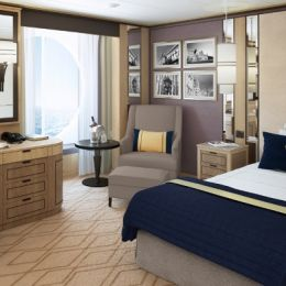 Britannia Single Oceanview Stateroom